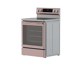 3D model Samsung Electric Range