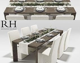 3D Arles Dining Set