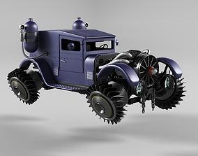 Automobile-Retro-cyberpunk 3D