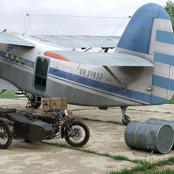 An-2T exterior