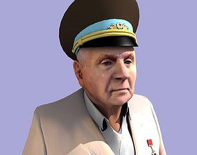 3D Retired soviet general