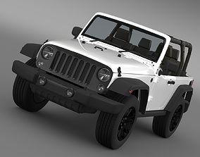 Jeep Wrangler Willys 2014 3D