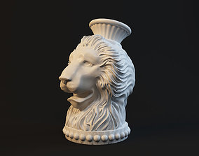 Lion sculpture print 3D printable model