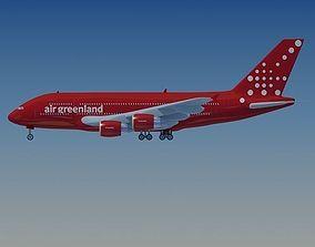 Air Greenland Airbus 3D