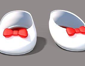 3D model Cartoon Heels