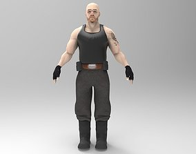 3D model Mercenary Mk7