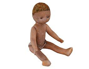 3D model Small Doll USSR 03 01