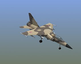 3D asset Mirage F1C Fighter Jet