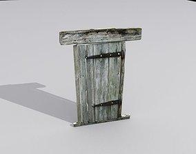 Door 5 Wooden 3D model