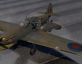 henley Hawker Henley Mk-1 3D model