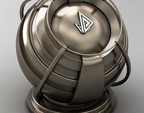VRAY SHADER---METAL---Cerium 3D