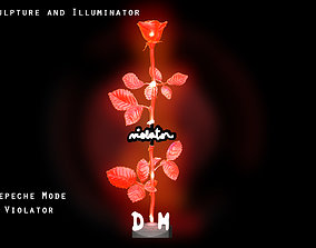 Sculpture and Illuminator Depeche Mode 3D print model