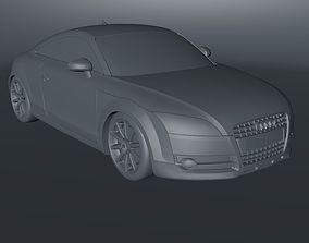 Audi TT 3D asset