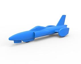 Diecast model Spirit of America jet car 1964 Scale 1 to 1