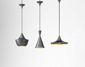 Tom Dixon Beat ceiling lamps 3D