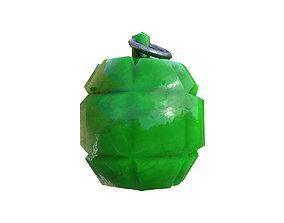3D asset toon grenade
