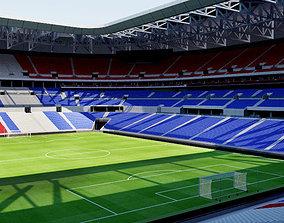 Parc Olympique Lyonnais - Lyon 3D model