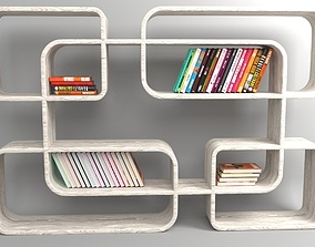 Bookshelf 3D bookshelf furniture