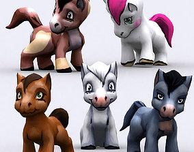 animated 3DRT - Chibii Pony