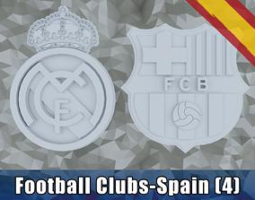 3D print model Football Clubs - Spain European Football 1