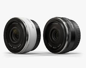 3D asset Nikon 1 Nikkor 10mm f 2-8 Lens