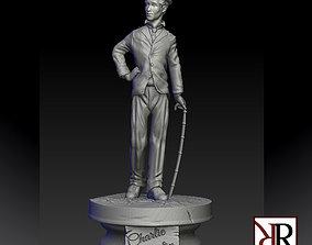 charlie chaplin 3D printable model