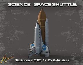 SCIENCE SPACE SHUTTLE 3D model