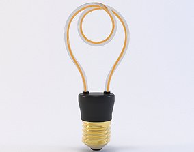 Ecobelle Nibiru Light Bulb 3D model
