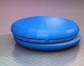 3D print model cheeseburger