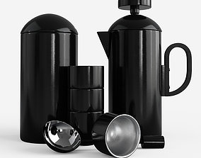 3D model Brew Cafetiere Giftset Black by Tom Dixon