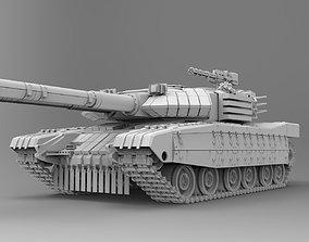 Tank spider 3D model military-truck