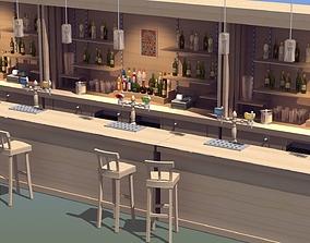 3D model Modern Bar