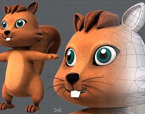 Squirrel V01 3D model