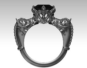3D print model Horse Ring