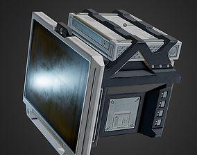 game-ready Sci-Fi Terminal PBR game-ready asset