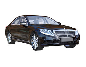 Mercedes Benz S-Class S500 3d Model