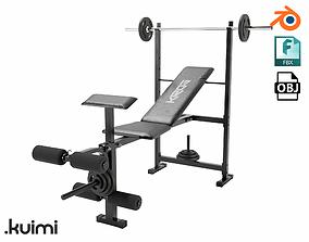 Gym Equipment 001 3D