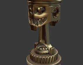 3D Death race trophy cup
