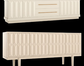 Mitchell Gold Monterey Media Console 3D model