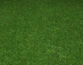 3D ground grass tile 24