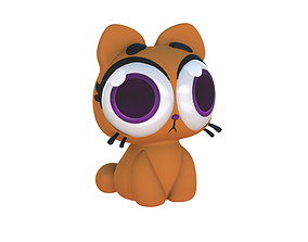 3D printable model Cartoon Cat Taffi