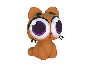 Cartoon Cat Taffi 3D print model