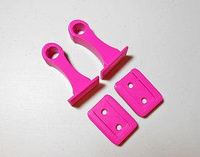 Riepir I Curtain Rod Holder 3D print model