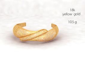 3D print model Cuff bracelet