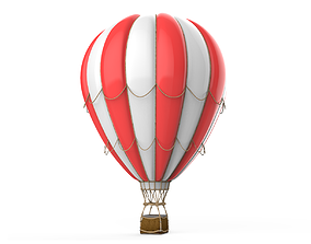 3D basket Hot Air Balloon