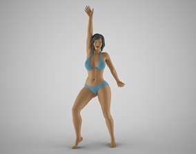 3D print model Girl Having Fun