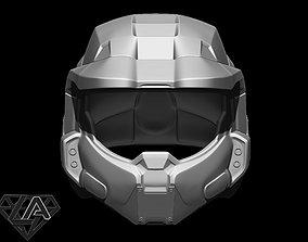 3D printable model Master Chief custom helmet