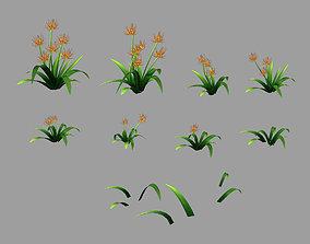 3D model City - Thorn Grass dry