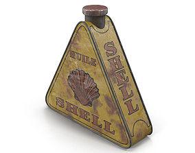 3D asset Vintage canister