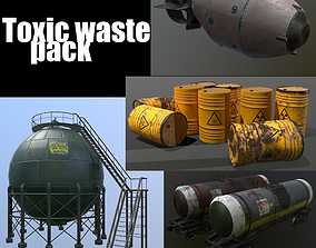 3D toxic waste
